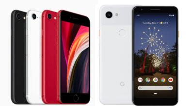 Photo of Сравнение: Apple iPhone SE 2020 против Google Pixel 3a
