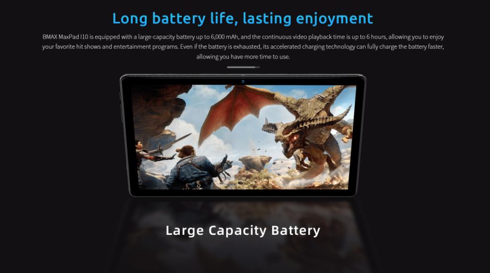Особенности планшета BMAX MaxPad I10