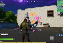 Fortnite Aso Fanau Luʻi o le a amata i le 2020. Oe tatau ona siva i luma o 10 aso fanau keke e maua ai le Cakey Weapon Wrap. Fortnite ua avanoa nei i luga o PS4, Xbox One, Switch, PC, ma le Android.