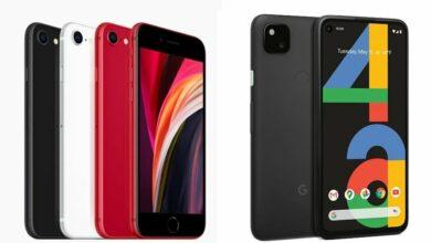 Photo of Google Pixel 4a против iPhone SE 2020: сравнение характеристик