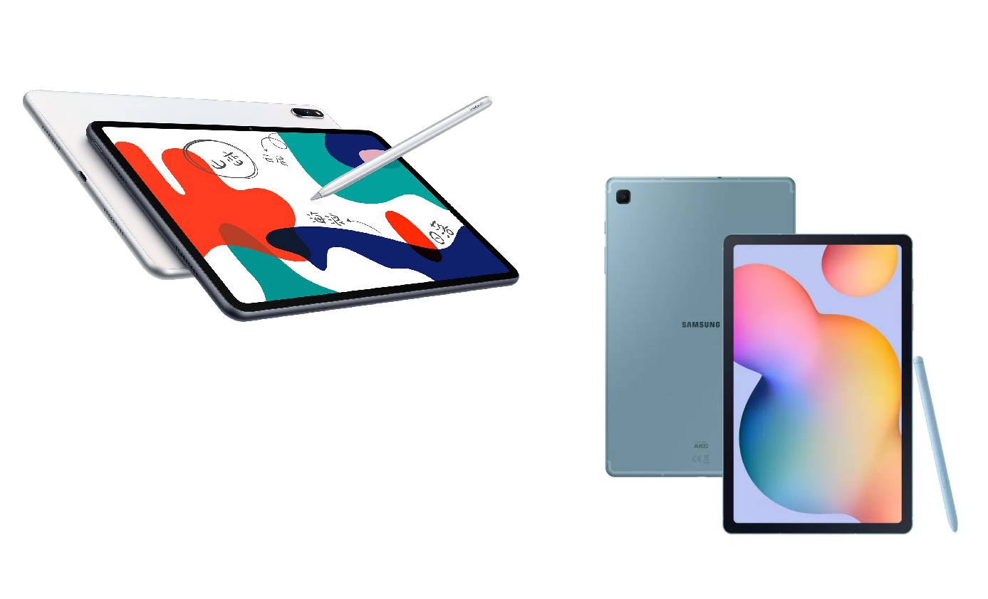 Huawei MatePad против Samsung Galaxy Tab S6 Lite