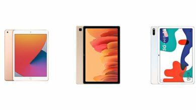 Photo of iPad 8-го поколения против Samsung Galaxy Tab A7 против Huawei MatePad 5G: сравнение характеристик