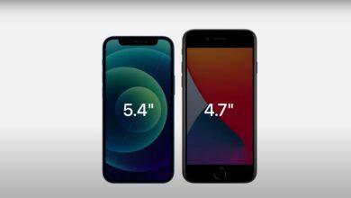 Photo of iPhone 12 Mini против iPhone SE 2020: сравнение характеристик