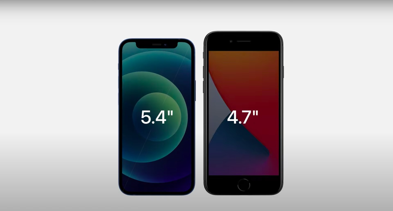 iPhone 12 Mini против iPhone SE 2020