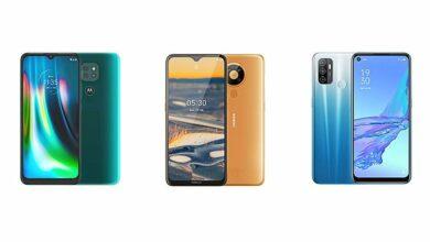 Photo of Moto G9 против Nokia 5.3 против OPPO A53: сравнение характеристик