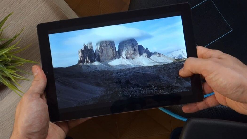 Обзор Chuwi HiPad X: Экран и качество изображения