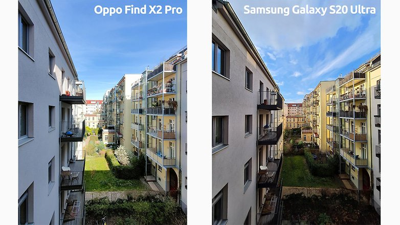 oppo find x2 pro vs s20 ultra ww