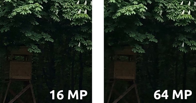 Motorola Edge: качество изображения 64 против 16 МП