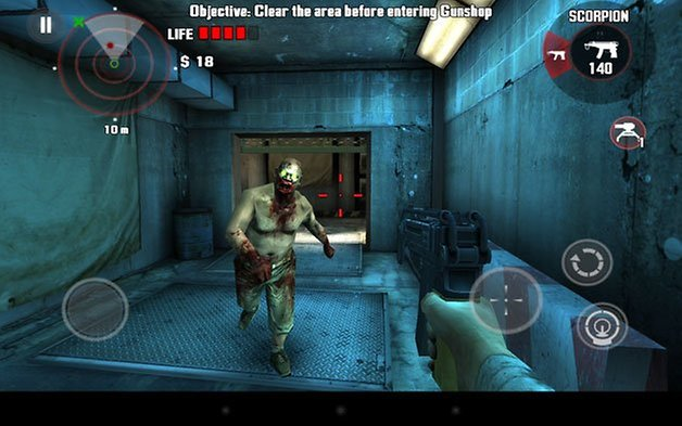 neues nexus 7 dead trigger screenshot