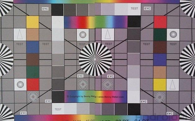 colour chart comparison left nexus7 right s4active