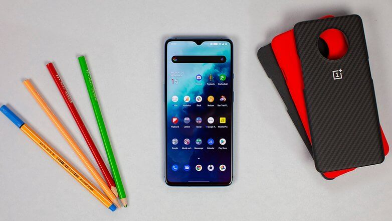 OnePlus 7T Front