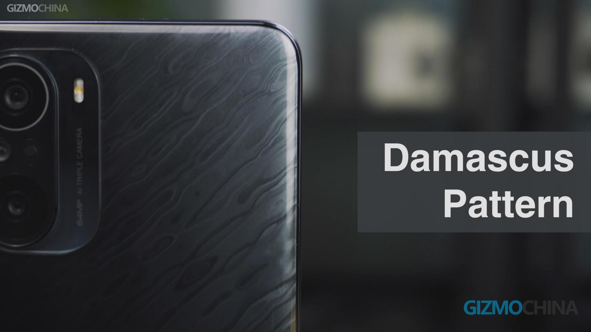 Redmi k40 Pro Damascus Pattern Featured