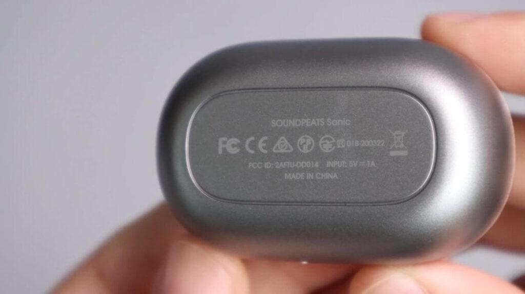 Обзор Soundpeats Sonic: зарядный бокс