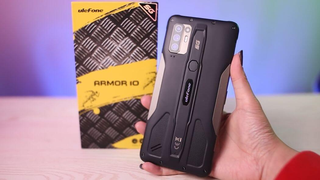 Обзор Ulefone Armor 10: первый защищенный смартфон 5G