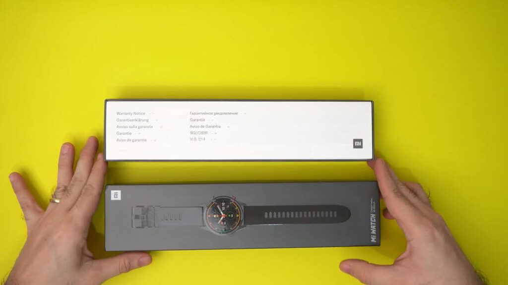 Xiaomi Mi Watch: Распаковка и комплектация