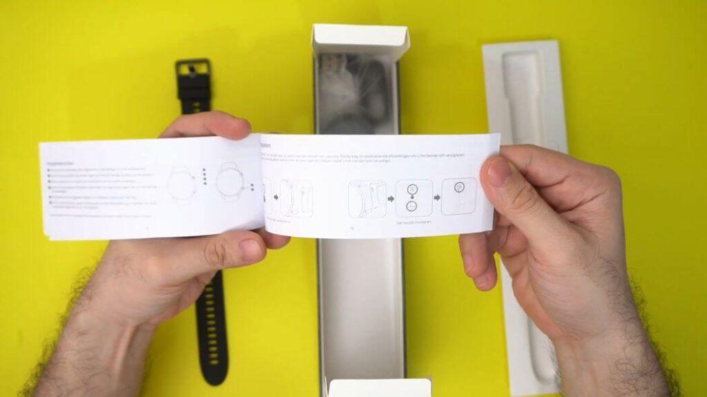 Xiaomi Mi Watch: Распаковка и комплектация - инструкция