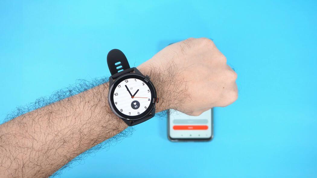 Xiaomi Mi Watch: Дисплей