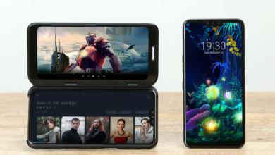 Photo of Раскрыта технология корпуса LG Dual Screen, используемая в V50 ThinQ
