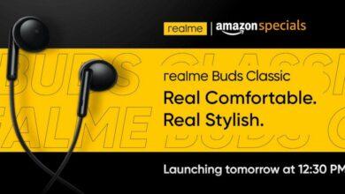 Photo of Realme Buds Classic с половинным вкладышем в ухе будет запущен в Индии 18 августа