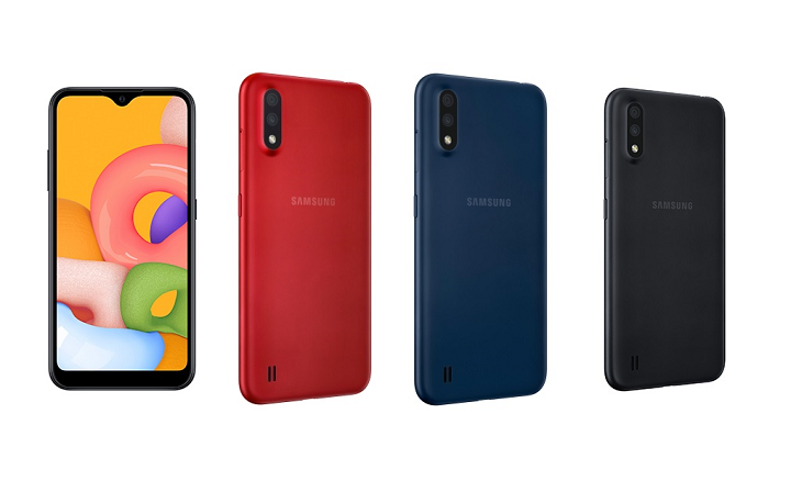 Galaxy A01 Featured