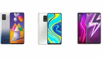 Photo of Samsung Galaxy M31s против Redmi Note 9 Pro против Realme 6 Pro: сравнение характеристик