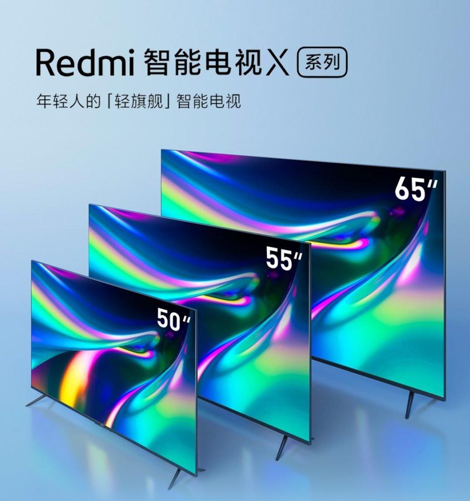 Redmi Smart TV X Series X50 X55 X65