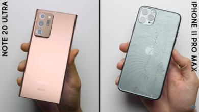 Photo of Стекло Victus Glass от Samsung Galaxy Note 20 Ultra показало впечатляющие результаты в тесте на падение