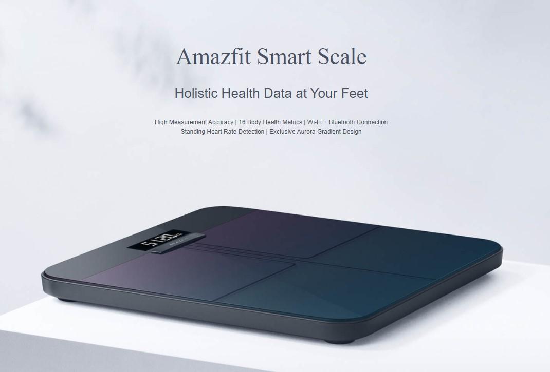 Весы Amazfit Smart Scale