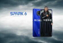 Photo of Tecno Spark 6 с 6,8-дюймовым дисплеем, Helio G70 запущен в Пакистане