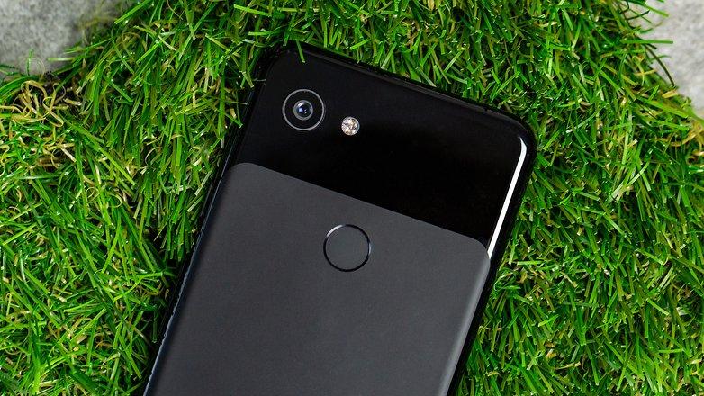 google pixel 3a grass