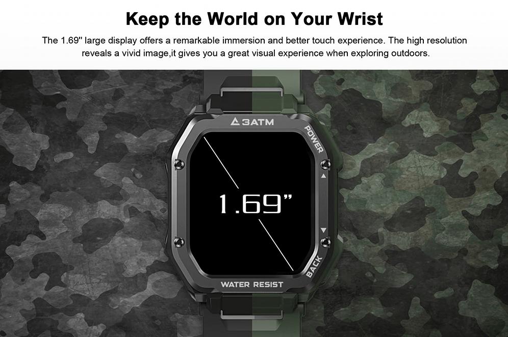 Умные часы Kospet Rock Outdoor всего за 36 долларов США