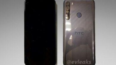 Photo of Утечка HTC Desire 20 Pro Практические изображения демонстрируют передние и задние аспекты