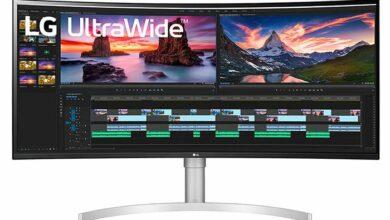 Photo of Выпущен изогнутый игровой монитор LG 38WN95C-W с 38-дюймовой панелью QHD + IPS