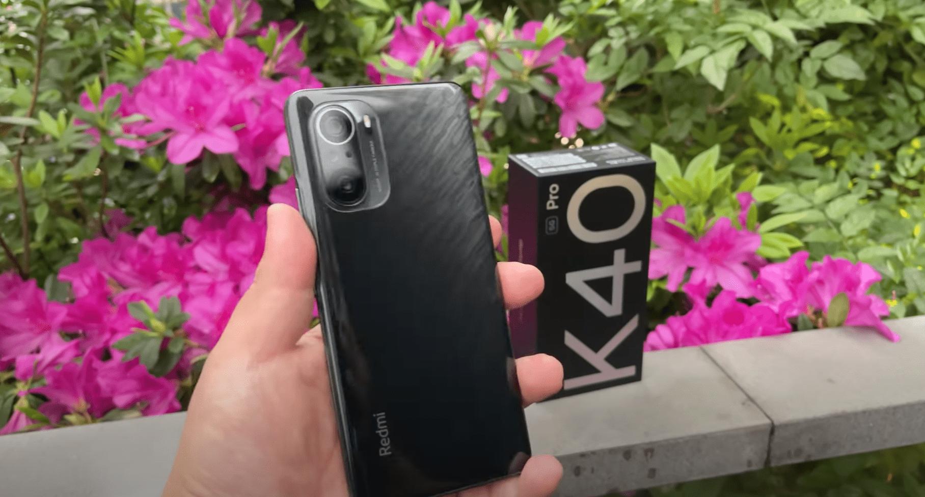 Xiaomi Redmi K40 Pro теперь доступен всего за 690 долларов